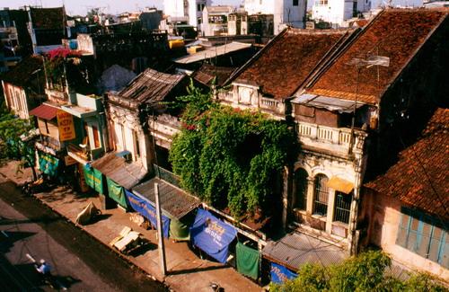 vieux quartier hanoi