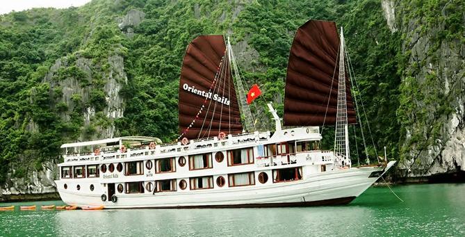 jonque oriental sails