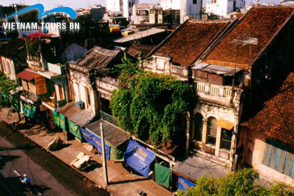 Le view quartier de Hanoi