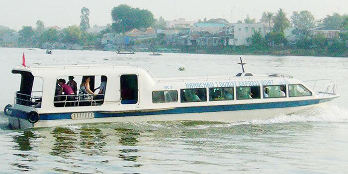 Partir du Vietnam au Cambodge en bateau