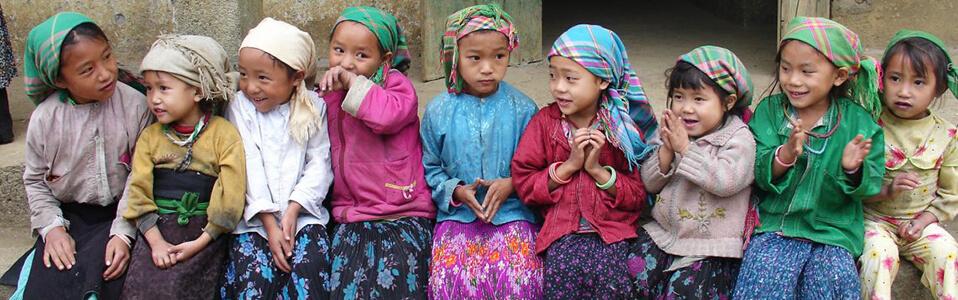 Enfants des ethnies minoritaires